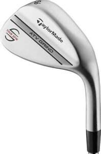 NEW TaylorMade ATV Chrome Tour Spin 52*-09 Wedge/Steel KBS