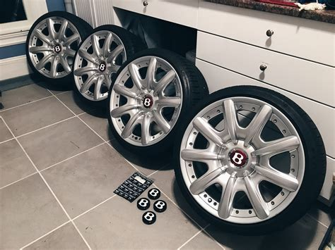 bentley wheels for sale for sale fs oem 2 piece bentley mulliner wheels 19x9