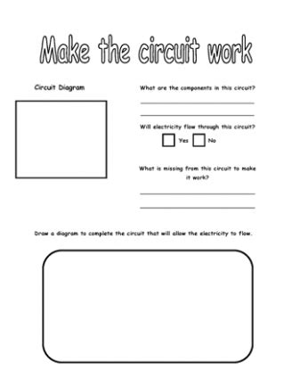 circuit diagram worksheet ks2 image collections how to