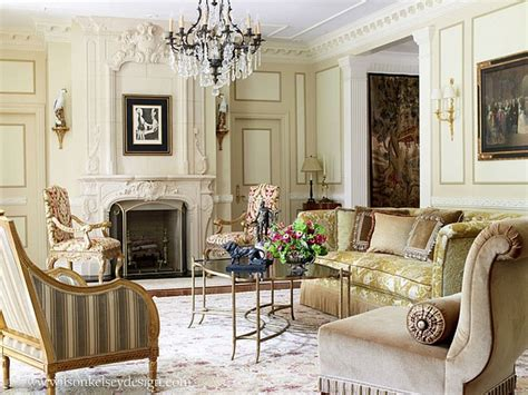 french inspired living rooms french villa style living room by wilson kelsey design