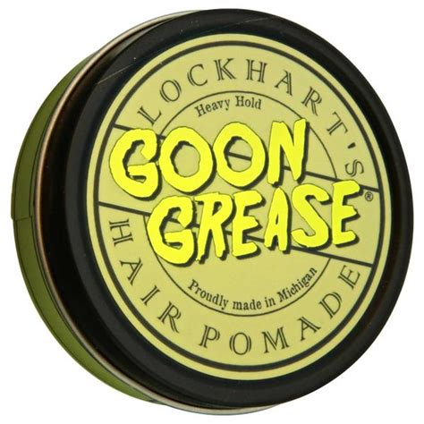 Lockharts Goon Grease Pomade lockhart s heavy hold goon grease pomade strong hold base pomade pomade