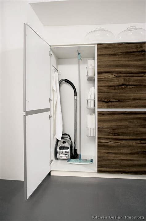 Cleaning Wood Kitchen Cabinets by Wooden Broom Closet Cabinet Winda 7 Furniture