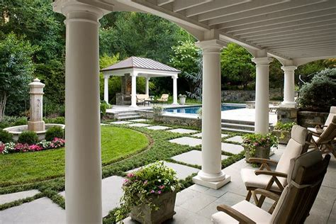 Patio Shelter Mclean Amp Great Falls Pergola Porch Amp Pool House Design