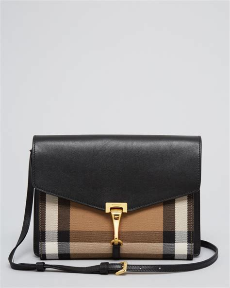 lyst burberry crossbody house check sartorial small
