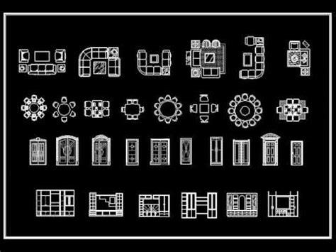 furniture templates for autocad download autocad block download interior design standard 2d blocks