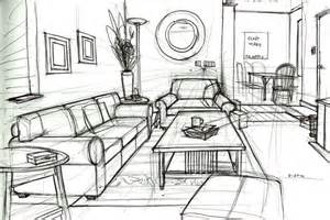 living room drawing one point perspective drawing living room search