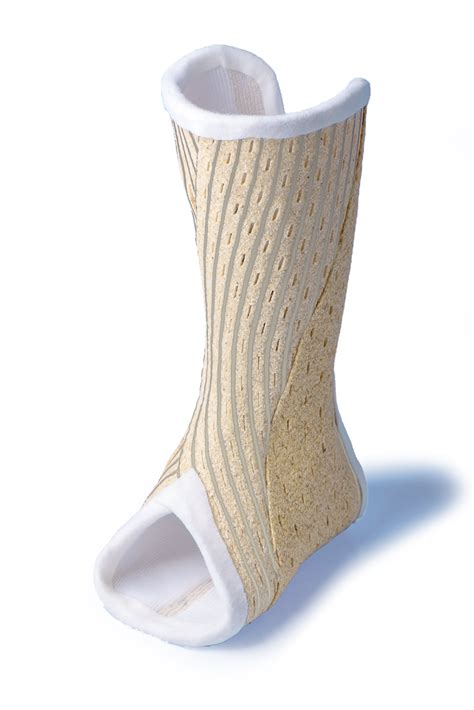 cast of with a novel ankle cast designs with non toxic material the foot and ankle journal
