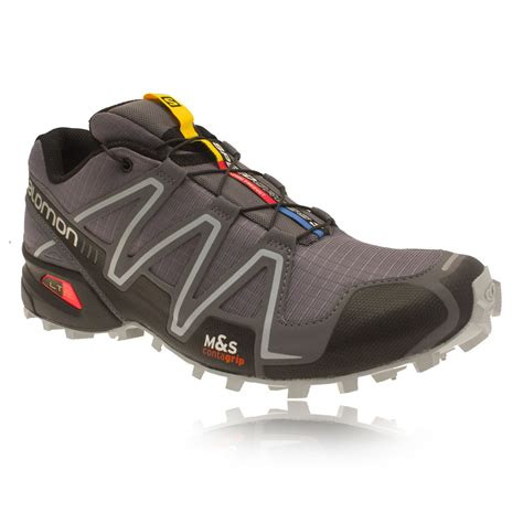 salomon sport shoes salomon speedcross 3 mens grey light trail running