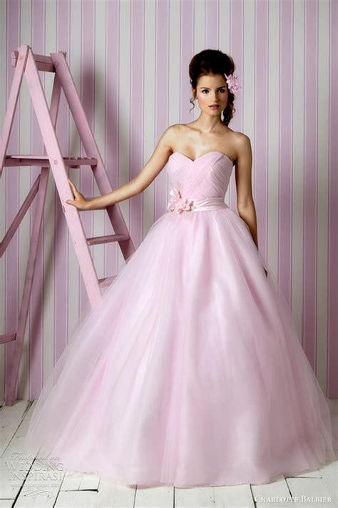Hochzeitskleid Pink by Balbier Wedding Dresses 2012 Kisses
