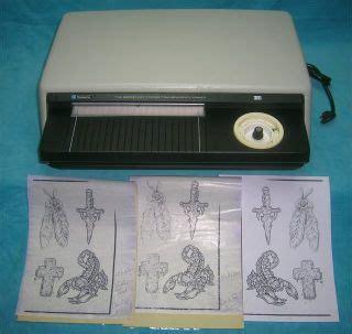 tattoo transparency maker 3m thermal fax tattoo stencil and transparency machine l k