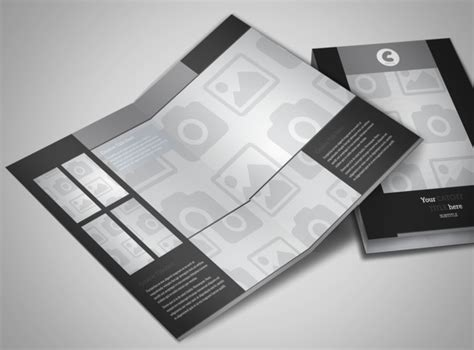 blank bi fold card template blank bi fold brochure template 2960mb