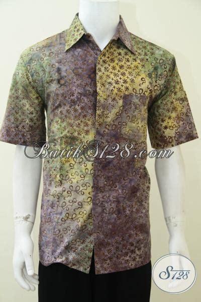 Baju Gamis Pria Gaul Baju Batik Gaul Pria Modern Lengan Pendek Ld2329cs M