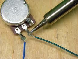 how to solder guitar pots precision guitar kits
