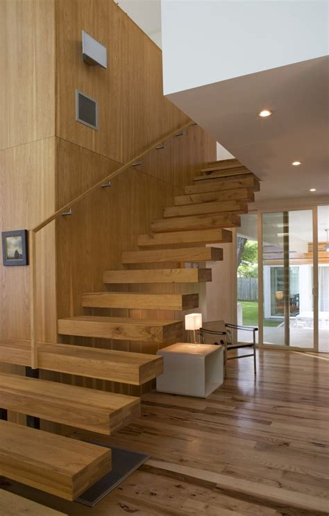 Banister Ends by Glamorous Floating Staircase Vogue Modern Staircase