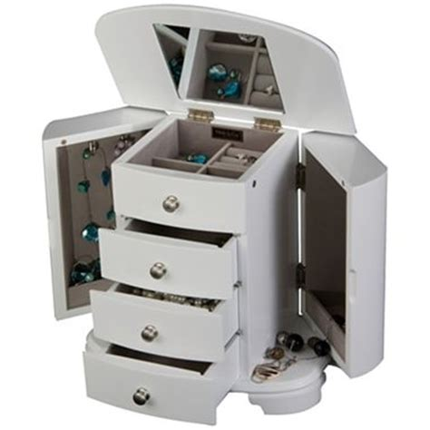 jcpenney armoire white jewelry box jcpenney jewelry boxes pinterest