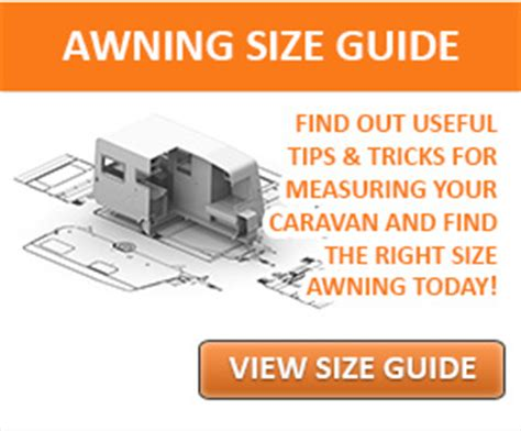 awning size guide glossop awnings caravan awnings motorhome awnings and