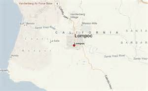 lompoc california map lompoc location guide