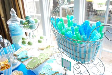 Blue And Green Baby Shower by Blue And Green Baby Shower Ideas Omega Center Org