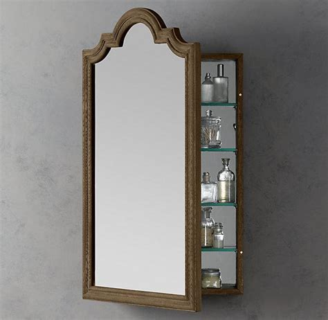 bathroom mirrors restoration hardware whitby wall mount medicine cabinet medicine cabinets