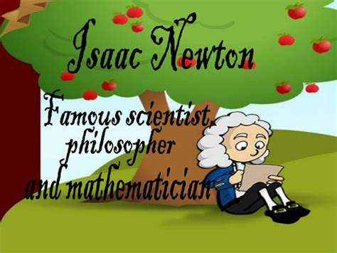 isaac newton biography for elementary students presentation introducing children to isaac newton by