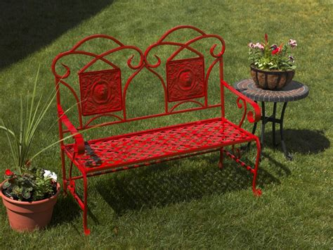painted outdoor benches refurbished metal garden bench project outdoor spray paint projects krylon