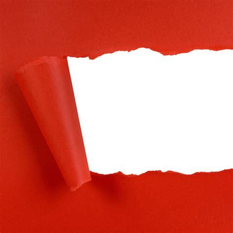 edge of wallpaper curls papel rojo rasgado descargar fotos gratis