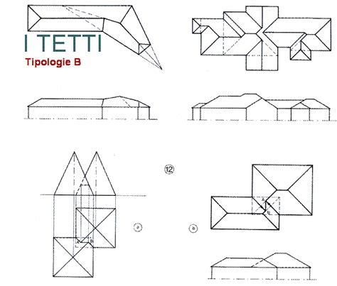 Tetti A Falde Tipologie by Elementi Di Architettura Tetti Rappresentazioni Grafiche