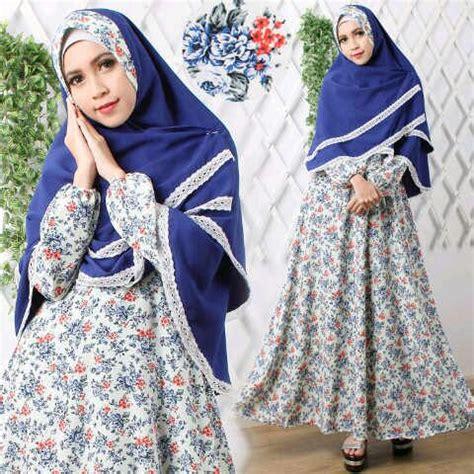 Baju Muslim Setelan Cadar Gamis Syari Polos Cantik Azah Berkualitas 1 gamis setelan cantik b021 wolfis jual beli setelan gamis cantik modern model terbaru model