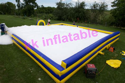backyard foam pit aliexpress com buy commercial inflatable foam pit with