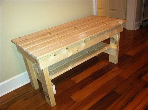 Woodworking Plans Sitting Bench