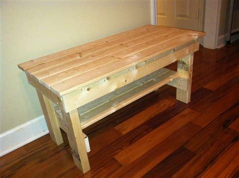 foundfree woodworking plans outdoor storage bench craig