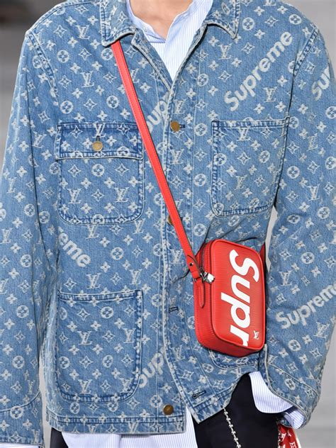 Lv Monogram Cardi confirmed louis vuitton x supreme is now a reality