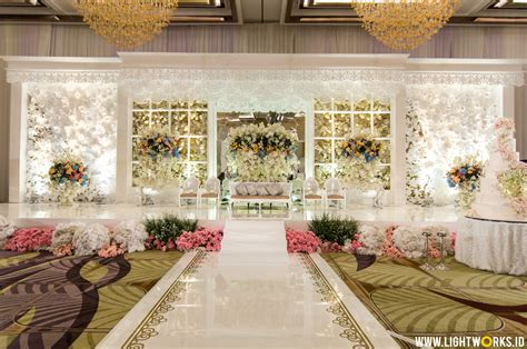 Blessing Wedding Organizer Jakarta by Heavenly White Wedding Celebration Lightworks