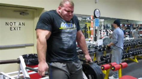 derek poundstone bench press derek poundstone arnold classic training teaser doovi