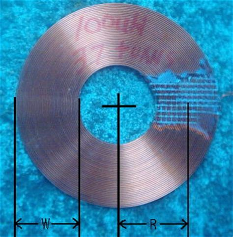 flat spiral inductor calculator radial coil inductance calculator