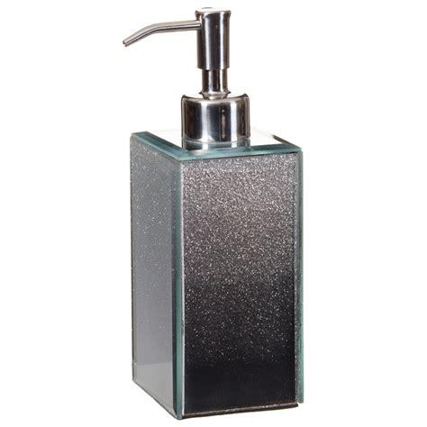 bathroom dispensers glitter ombre soap dispenser bathroom accessories b m