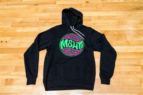 Sweater Hoodie For Persija Jaspirow Shopping 1 Mshtv Logo Hoodie Black And Neon Green Mshtv Clothing