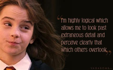 Hermoine Granger Quotes by 10 Quotes By Hermione Granger That Prove She S The