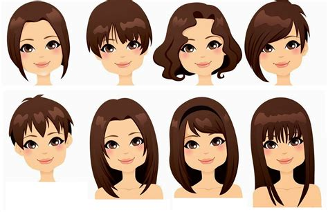 hair shapes how to style your hair to match the shape of your face b