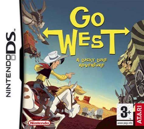 Go West lucky luke go west para ds 3djuegos