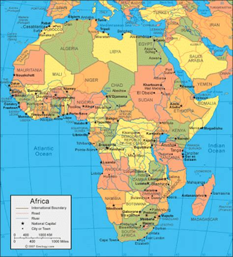 africa map location all about scince and technology africa s location