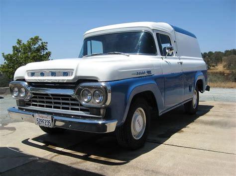 59 ford panel truck 1959 ford f100 panel 1950 59 trucks