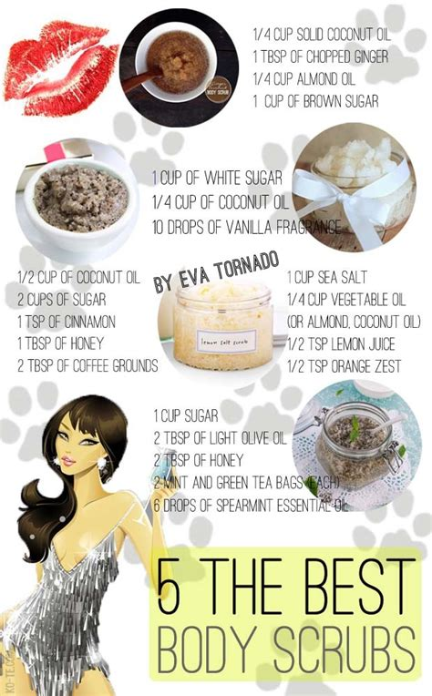 5 the best body scrub recipes. My selection