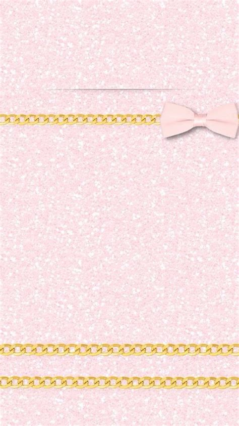 girly gold wallpaper pink girly glitter ribbon gold iphone wallpaper lock