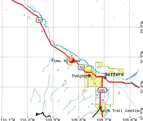 pima maps pima arizona az 85543 profile population maps real