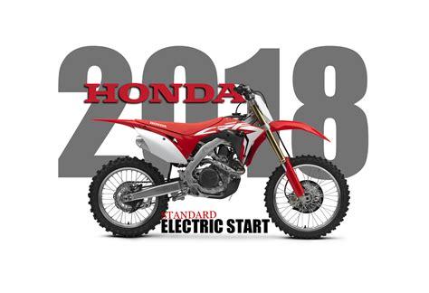 model motocross dirt bike magazine honda official release 2018 crf450r