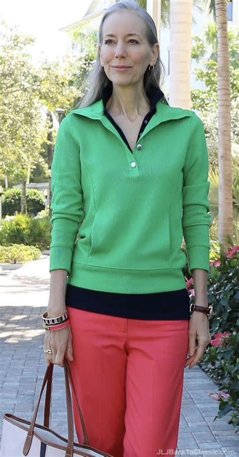 preppy for women over 50 preppy look over 40 video classic fashion over 40 50