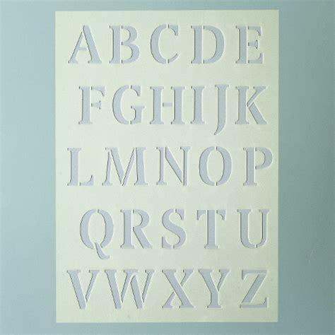 Klebebuchstaben Negativ by Stencil Design Schablone A5 Buchstaben Gro 223 F 252 R Fenster Glas