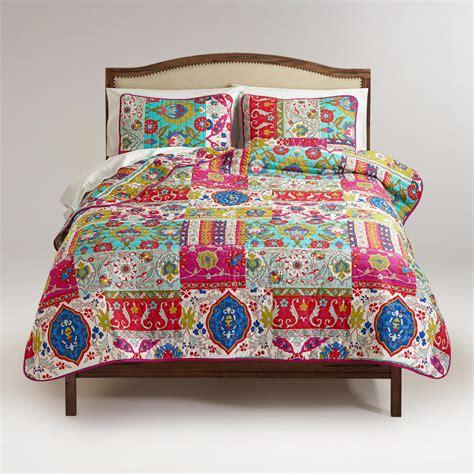 world market bedding istanbul patchwork bedding collection world market