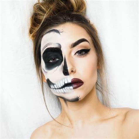 imagenes halloween para la cara m 225 s de 25 ideas incre 237 bles sobre mujer calavera en